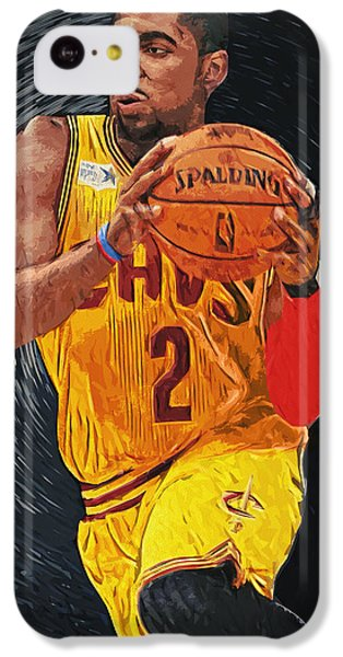 Kyrie Irving IPhone 5c Case by Taylan Soyturk