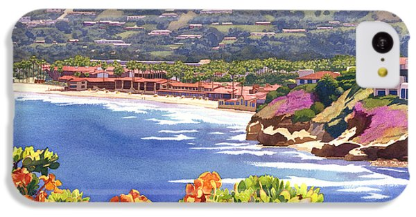 La Jolla Beach And Tennis Club IPhone 5c Case by Mary Helmreich