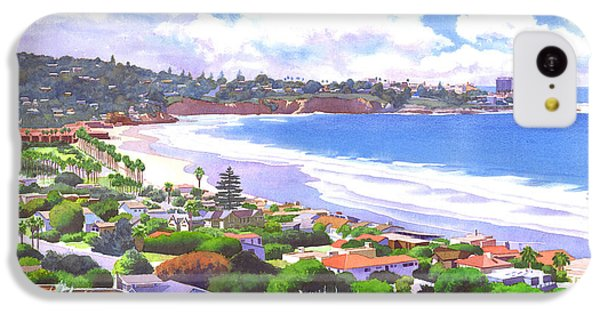 La Jolla California IPhone 5c Case by Mary Helmreich