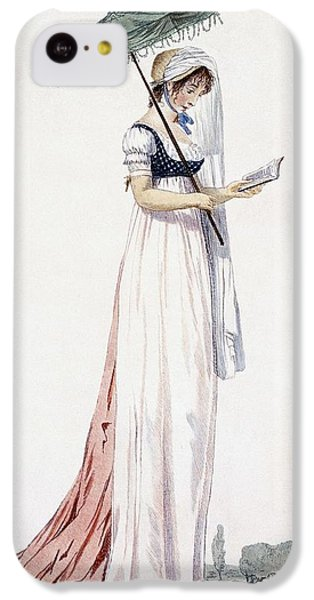 Ladies Elegant Summer Dress IPhone 5c Case by English School