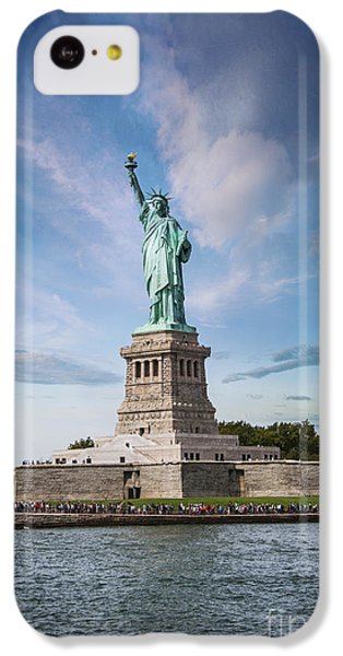 Lady Liberty IPhone 5c Case by Juli Scalzi