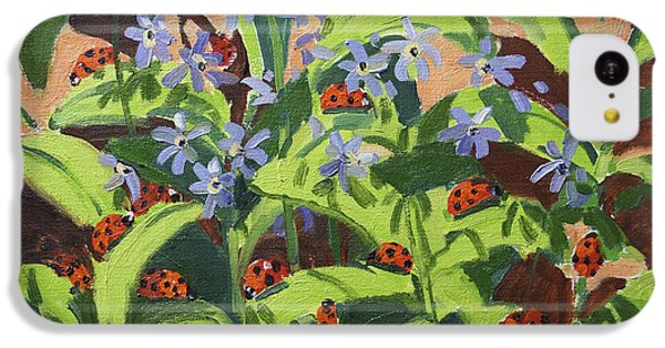 Ladybirds IPhone 5c Case by Andrew Macara