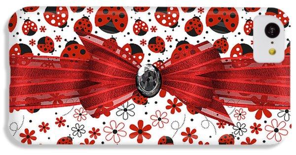Ladybug Magic IPhone 5c Case by Debra  Miller