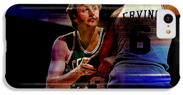 Larry Bird IPhone 5c Case by Marvin Blaine