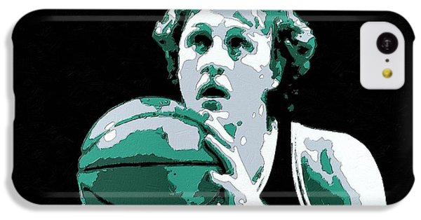 Larry Bird Poster Art IPhone 5c Case by Florian Rodarte