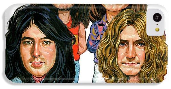 Led Zeppelin IPhone 5c Case by Art