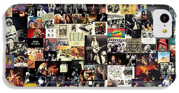 Led Zeppelin Collage IPhone 5c Case by Taylan Soyturk