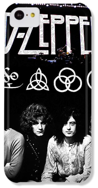 Led Zeppelin IPhone 5c Case by FHT Designs