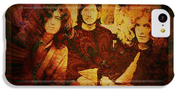Led Zeppelin - Kashmir IPhone 5c Case by Absinthe Art By Michelle LeAnn Scott