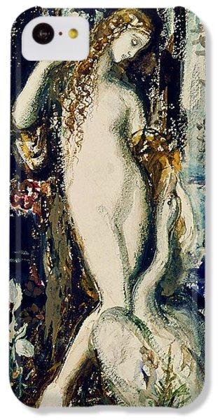 Leda  IPhone 5c Case by Gustave Moreau