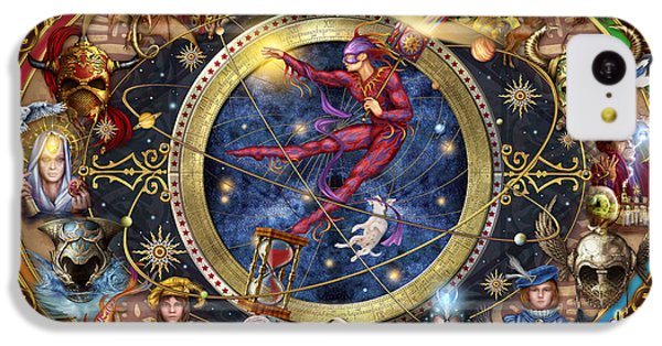 Legacy Of The Divine Tarot IPhone 5c Case by Ciro Marchetti