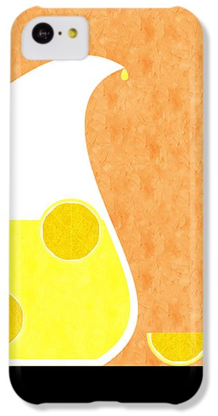 Lemonade And Glass Orange IPhone 5c Case by Andee Design