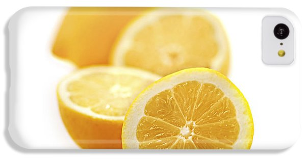 Lemons IPhone 5c Case by Elena Elisseeva