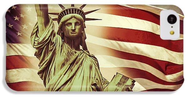 Liberty IPhone 5c Case by Az Jackson