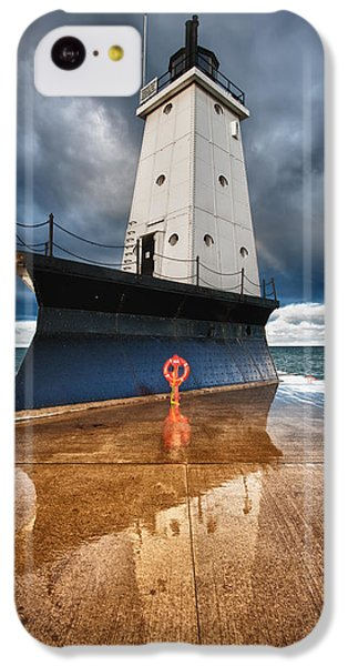Lighthouse Reflection IPhone 5c Case by Sebastian Musial