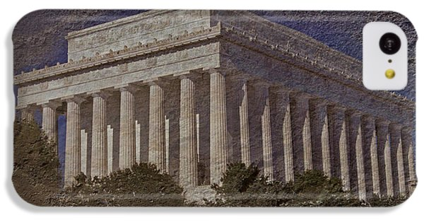 Lincoln Memorial IPhone 5c Case by Skip Willits