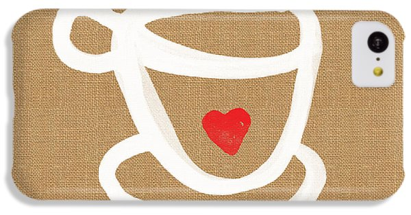 Little Cup Of Love IPhone 5c Case by Linda Woods