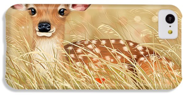 Little Fawn IPhone 5c Case by Veronica Minozzi
