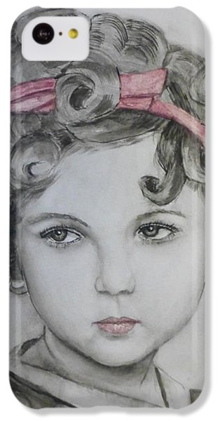 Little Shirley Temple IPhone 5c Case by Kelly Mills