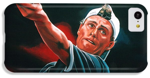 Lleyton Hewitt 2  IPhone 5c Case by Paul Meijering