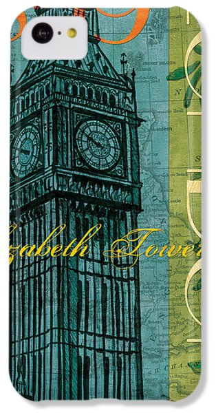 London 1859 IPhone 5c Case by Debbie DeWitt