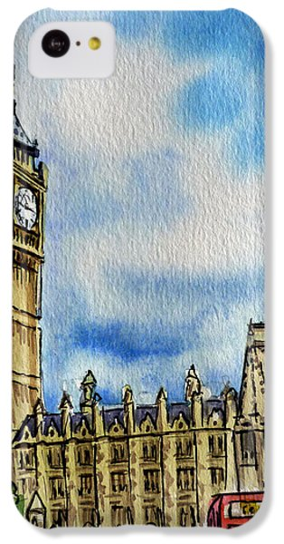 London England Big Ben IPhone 5c Case by Irina Sztukowski