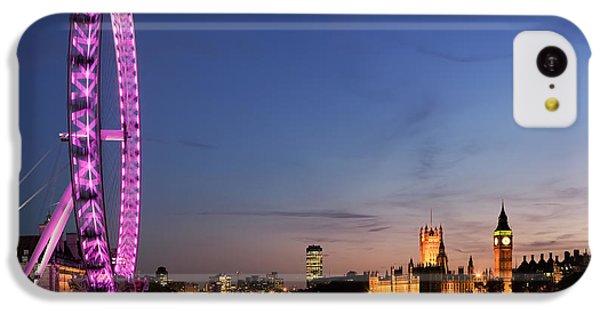 London Eye IPhone 5c Case by Rod McLean