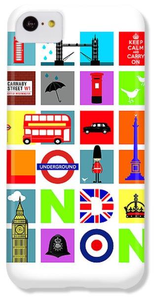 London IPhone 5c Case by Mark Rogan