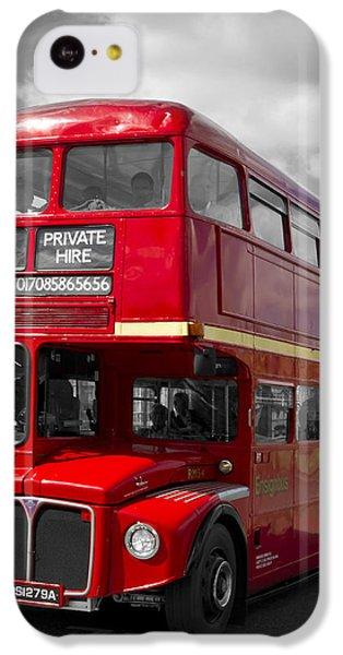 London Red Buses On Westminster Bridge IPhone 5c Case by Melanie Viola