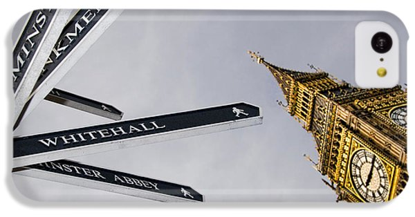 London Street Signs IPhone 5c Case by David Smith
