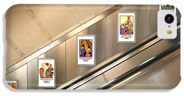 London Underground Poster Collection IPhone 5c Case by Mark Rogan