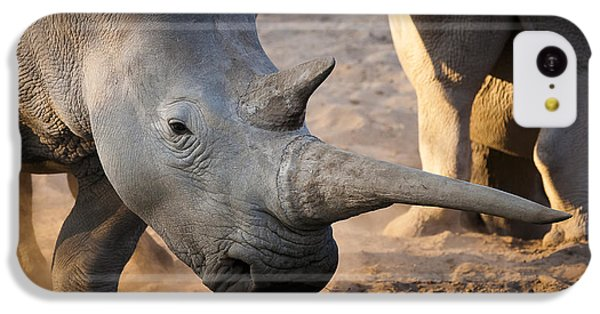 Long Horn IPhone 5c Case by Andy-Kim Moeller