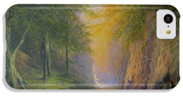 Lord Of The Rings Fangorn Treebeard Merry And Pippin IPhone 5c Case by Joe  Gilronan