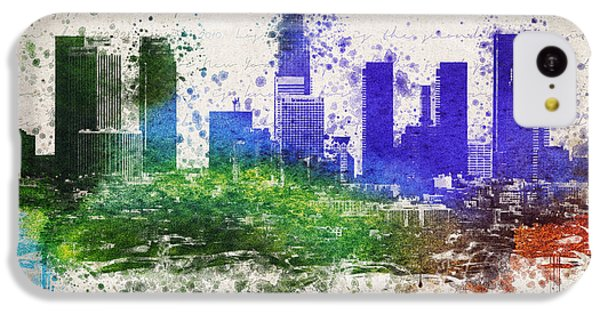 Los Angeles In Color  IPhone 5c Case by Aged Pixel