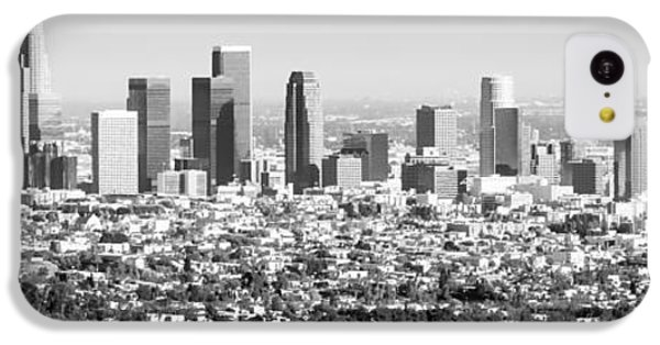Los Angeles Skyline Panorama Photo IPhone 5c Case by Paul Velgos