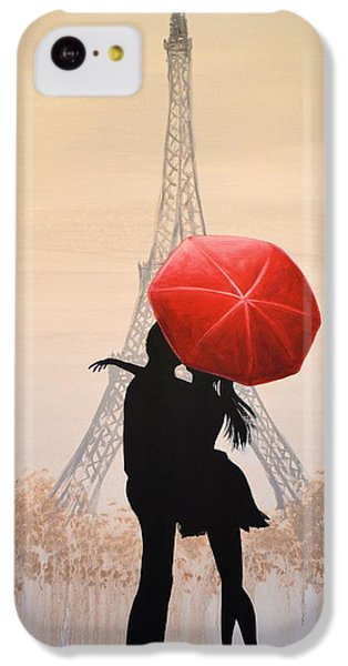 Love In Paris IPhone 5c Case by Amy Giacomelli