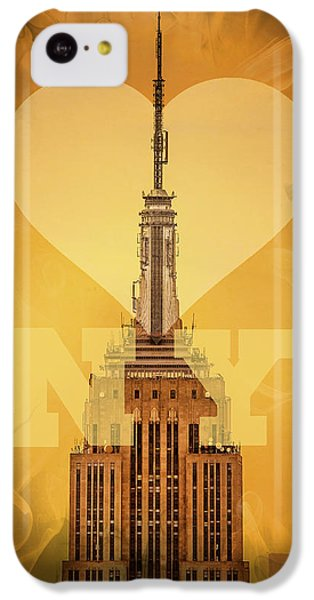 Love New York IPhone 5c Case by Az Jackson