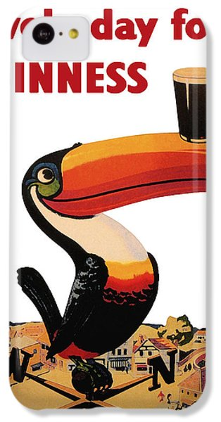 Lovely Day For A Guinness IPhone 5c Case by Nomad Art