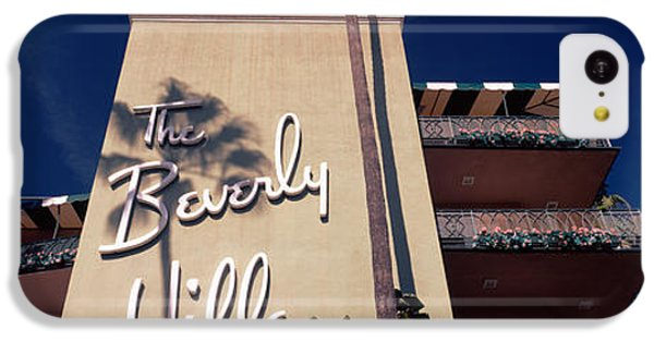 Low Angle View Of A Hotel, Beverly IPhone 5c Case by Panoramic Images