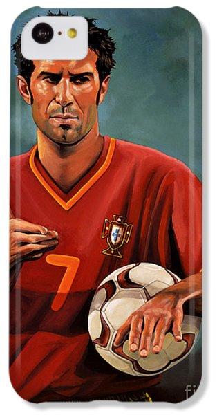 Luis Figo IPhone 5c Case by Paul Meijering