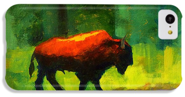 Lumbering IPhone 5c Case by Nancy Merkle