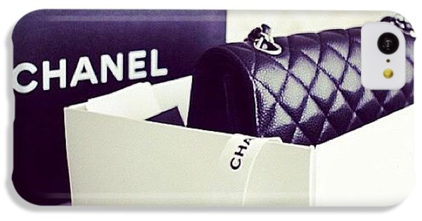 Chanel iPhone 5C Cases - #lust #chanel #bossladybag #idie #gorg iPhone 5C Case by Keller Walling