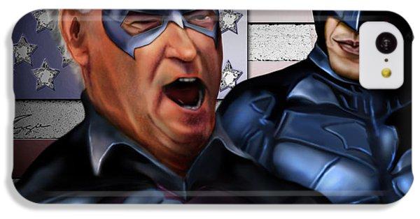 Mad Men Series 3 Of 6 - Obama And Biden IPhone 5c Case by Reggie Duffie