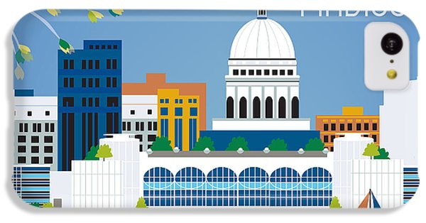 Madison IPhone 5c Case by Karen Young