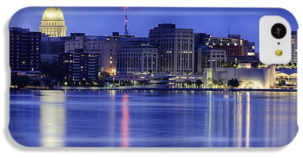 Madison Skyline Reflection IPhone 5c Case by Sebastian Musial