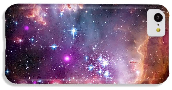 Magellanic Cloud 3 IPhone 5c Case by Jennifer Rondinelli Reilly - Fine Art Photography