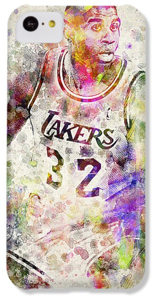 Magic Johnson IPhone 5c Case by Aged Pixel