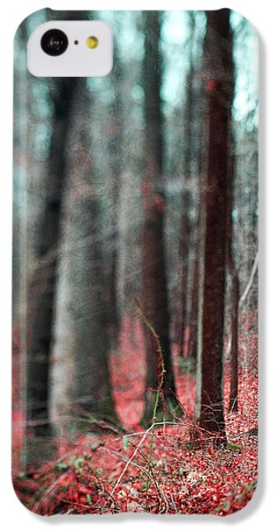 Magical Forest IPhone 5c Case by Kim Fearheiley