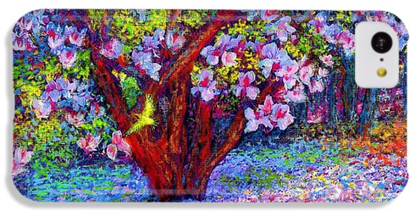 Magnolia Melody IPhone 5c Case by Jane Small