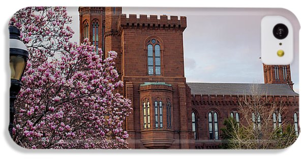 Magnolias Near The Castle IPhone 5c Case by Andrew Pacheco